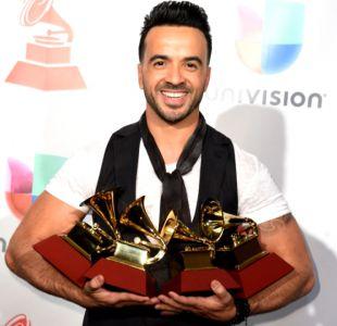 [FOTOS] La gran noche de Luis Fonsi en los Grammy Latino 2017