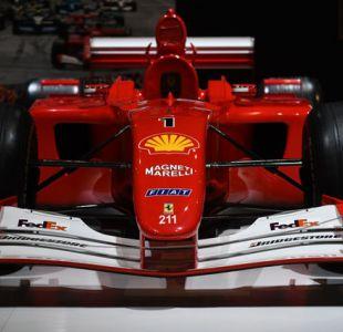 Ferrari de Fórmula 1 de Schumacher es subastado en 7,5 millones de dólares en Nueva York