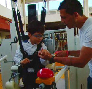 [VIDEO] Así fue la visita de Universidad de Chile al Instituto Teletón de Santiago
