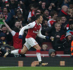 Alexis Sánchez es clave en triunfo del Arsenal sobre Tottenham en el clásico de Londres