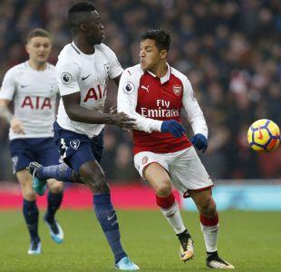 [Minuto a Minuto] Alexis se lució con Arsenal en el clásico ante Tottenham por la Premier League