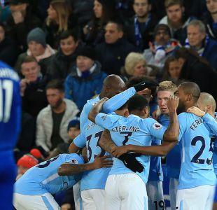 Manchester City sigue imparable en la Premier League tras vencer al Leicester