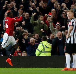 Manchester United golea a Newcastle en regreso de Pogba e Ibrahimovic