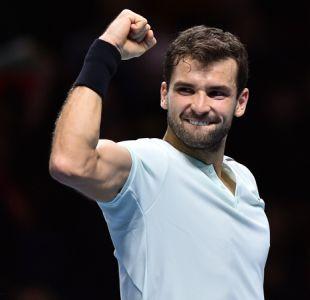 Grigor Dimitrov gana a Sock y jugará contra Goffin la final del Masters de Londres