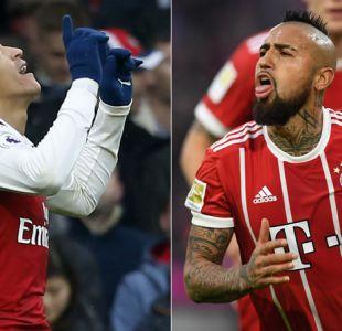 """Alexis y Vidal limpian sus heridas de """"La Roja"""" marcando goles y siendo figuras con sus clubes"""