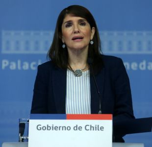 Paula Narváez, vocera de gobierno.