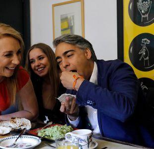 Marco Enríquez-Ominami desayunó junto a su familia