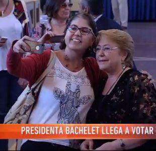 Votación presidenta Bachelet