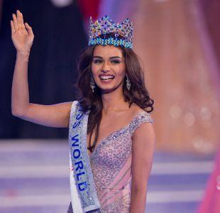 Estudiante de medicina india se corona como Miss Mundo 2017