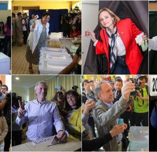 Elecciones 2017: así fue la votación de los candidatos presidenciales