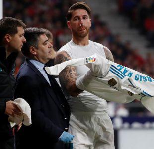 """Real Madrid confirma fractura de nariz de Ramos: """"Volvería a sangrar una y mil veces más"""""""