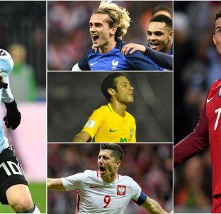 [GALERÍA] Las figuras de los 32 países que estarán en el Mundial de Rusia 2018