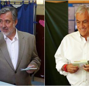 Piñera y Guillier pasan a segunda vuelta y miran sorpresiva votación de Kast y Sánchez