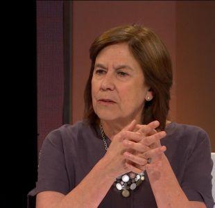 Mariana Aylwin y segunda vuelta: No me siento obligada a ir a votar por ninguna de las opciones