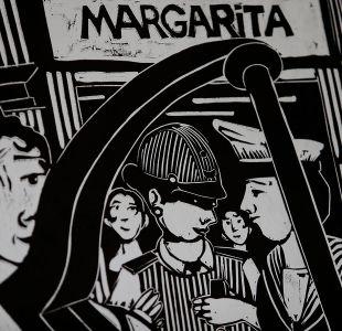 [FOTOS] Mural en homenaje a Violeta Parra es donado al Centro Nacional de Arte Contemporáneo