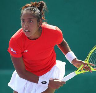 Pantera Seguel sigue como la mejor tenista de Chile en ránking WTA liderado por Halep