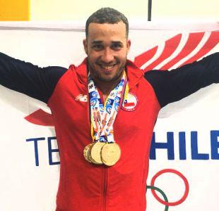 Arley Méndez se lleva todos los oros de su categoría en halterofilia de Juegos Bolivarianos
