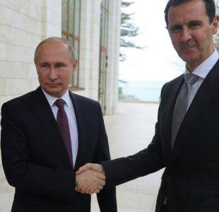 Putin se reúne con Bashar al Asad a la espera de conversación con Trump sobre Siria