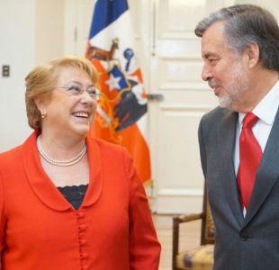 Guillier reafirma que no sacará a ministros del gabinete para su comando tras cita con Bachelet