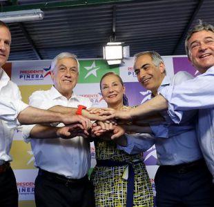 Kast, Coloma y Chahuán: los refuerzos del comando de Piñera