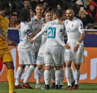 Cristiano y Benzema dejan su mala racha y meten al Real Madrid en octavos de Champions