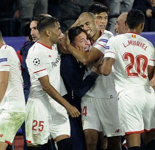 Sevilla rescata agónico empate ante Liverpool tras ir cayendo 3-0 en la Champions League