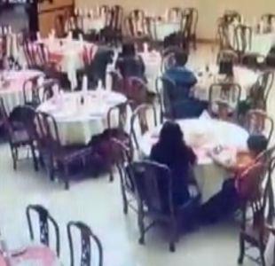 [VIDEO] Terror en restaurant de Puento Alto