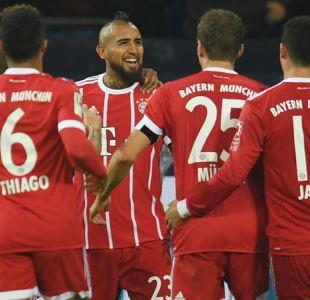 Arturo Vidal buscará mantener su buen nivel con Bayern Munich en la Champions