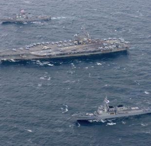 Avión de la Marina de Estados Unidos cae al mar de Filipinas con 11 personas a bordo