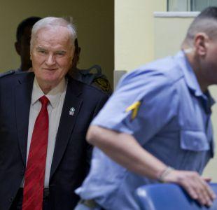 Ratko Mladic condenado a cadena perpetua por genocidio y crímenes de lesa humanidad