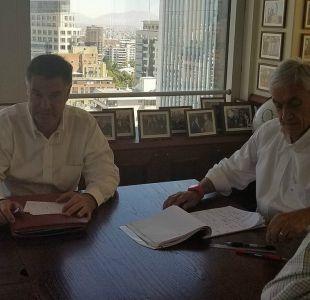 El almuerzo que selló el acuerdo Piñera-Ossandón