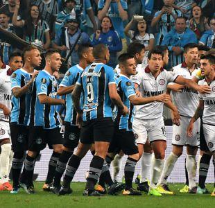 [VIDEO] Discutido arbitraje de Bascuñán en la final de Libertadores entre Gremio y Lanús