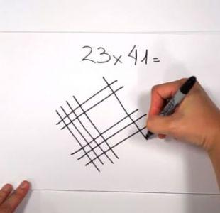 3 asombrosas maneras en las que se puede multiplicar dibujando