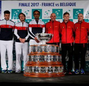 Francia y Bélgica se disputan el trono de Argentina en la Copa Davis