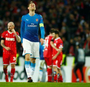 Un Arsenal clasificado a dieciseisavos cae ante Colonia en la Europa League