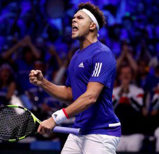 Francia y Bélgica terminan 1-1 el primer día de final de Copa Davis