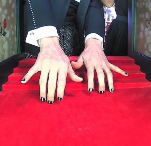 Di Mondo y sus uñas en el Copihue de Oro