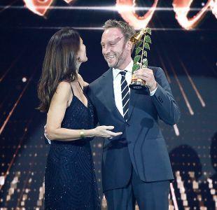 Martín Cárcamo ganó como Mejor Animador en los Copihue de Oro 2017