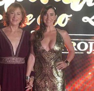 Patty López junto a su madre