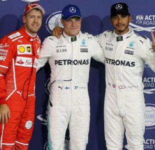 Finlandés Valtteri Bottas logra la pole en el Gran Premio de Abu Dabi