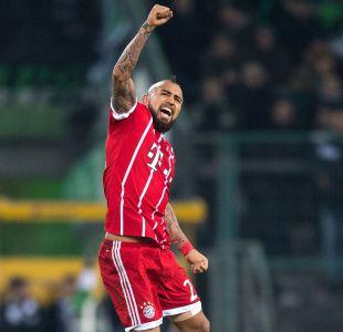 [VIDEO] El golazo de Arturo Vidal en derrota de Bayern Munich ante Borussia Mönchengladbach