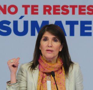 """Paula Narváez: """"Piñera no va a ser recordado por un gran aporte a Chile"""""""