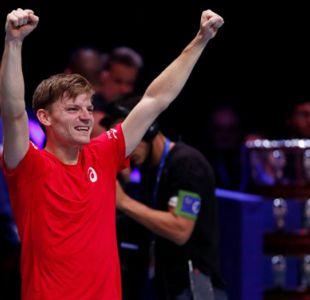 Goffin gana a Tsonga y Bélgica empata 2-2 ante Francia en final de la Copa Davis