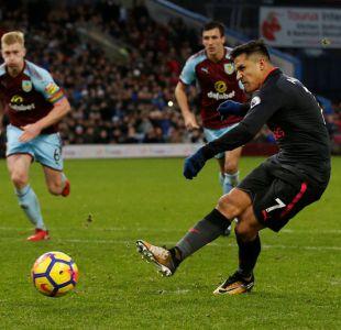Arsenal FC vence a Burnley en la Premier League con gol de Alexis en los descuentos