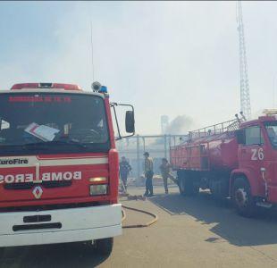 Til Til: Controlan incendio forestal que afectaba a centro del Sename y cárcel de Punta Peuco