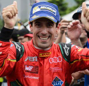 Lucas di Grassi, el ex F1 que llegará a Santiago en febrero como campeón de la Fórmula E