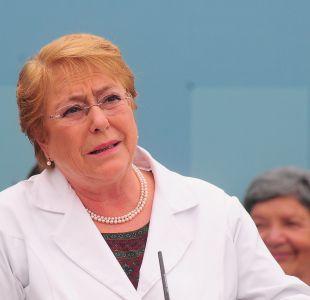 Bachelet pide responsabilidad y no desacreditar instituciones tras denuncia de Piñera