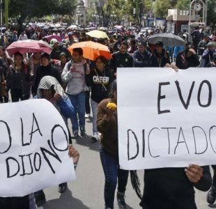 Oposición denuncia que nueva postulación de Morales socava la democracia en Bolivia