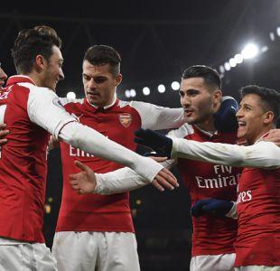 Alexis se luce con un golazo en aplastante victoria del Arsenal por la Premier League