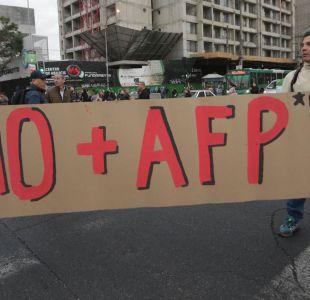 Bloqueo en Alameda marca jornada de protestas por No+AFP